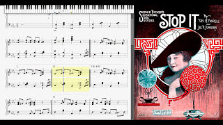 Stop It by James P. Johnson & William H. Farrell 1917