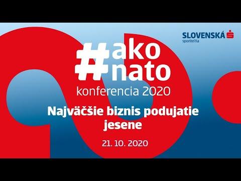 Slovenská sporiteľňa   #akonato konferencia 2020