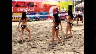 Chicas Xs (ecces) Chicas Gatorade Norceca Guatemala 2012