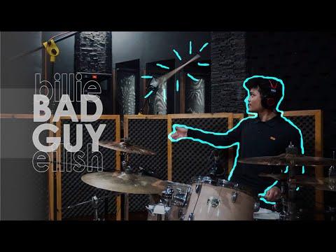 Bad Guy - Billie Eilish Drum Cover (Crazy stick tricks!)