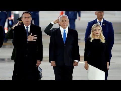 Στο Ισραήλ ο Ζαΐρ Μπολσονάρο