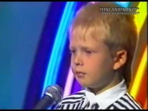 HARVINAISUUS Matti Nykänen laulamassa lapsena tekijä: VIIHDEHARVINAISUUDET