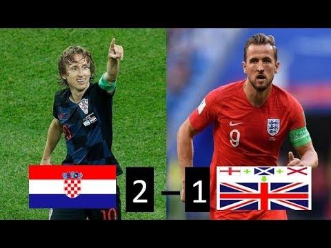 Croacia vs Inglaterra 2-1 Resumen y goles / Semifinal Rusia 2018 11/07/2018