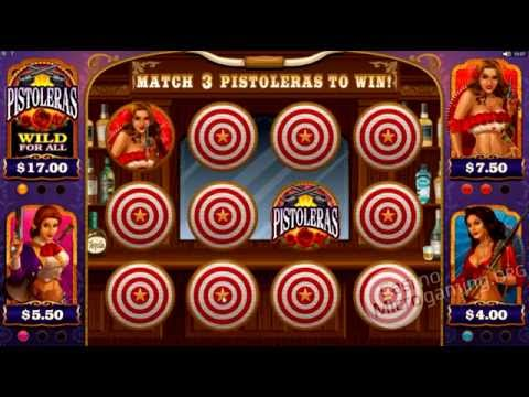 Pistoleras Slot Machine (Real Money Review)