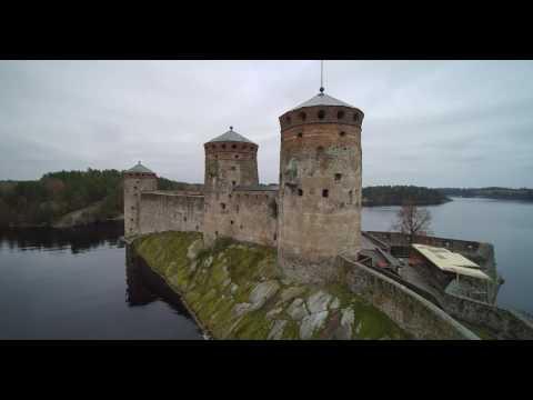 il castello di olavinlinna - finlandia