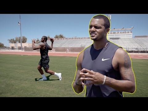 QB Drills w/ Deshaun Watson to Improve Footwork & Throwing!