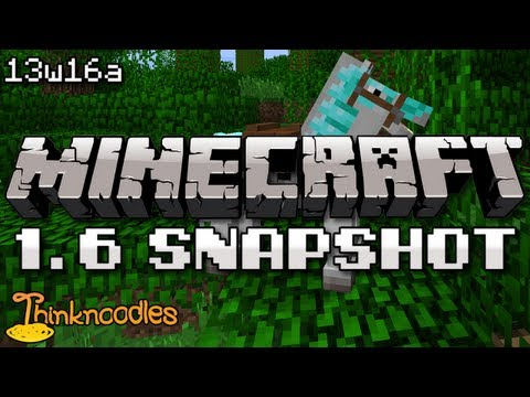 Minecraft 1.6 Snapshot: Battle Horses, Pack Mules, Wheat Bales, Carpets, Squid Abuse