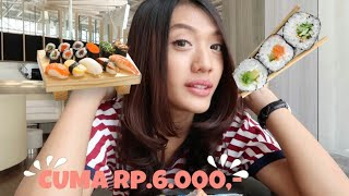 Video JAJAN SUSHI MURAH TERENAK! MP3, 3GP, MP4, WEBM, AVI, FLV September 2017