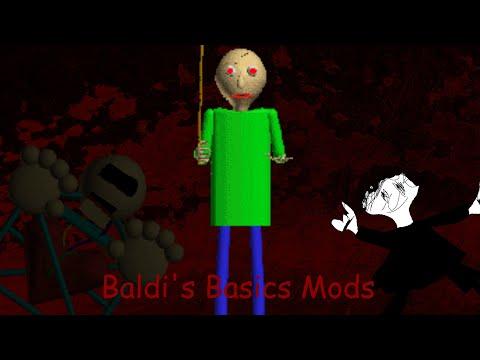 Baldi's Basics Mods - The Night School - a baldis basics horror mod