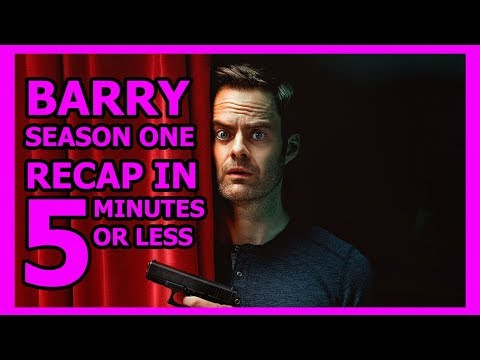 Barry Season 1 Recap in 5 Minutes or Less