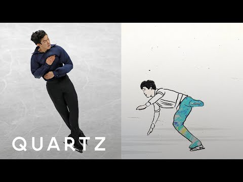 The most controversial Olympic figure skating jump (видео)