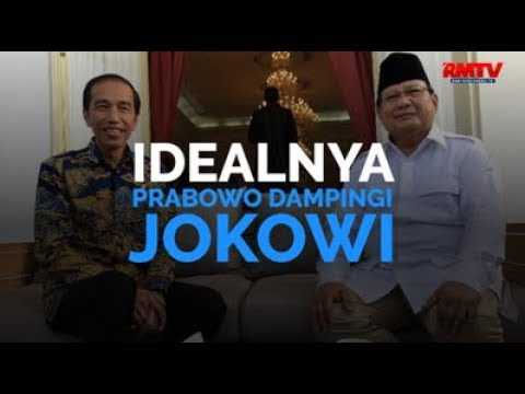 Idealnya, Prabowo Dampingi Jokowi