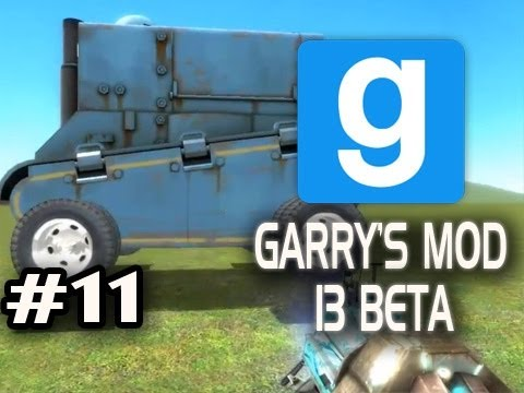 Garry's Mod 13 Beta w/Nova & Sp00n Ep.11 - PLAY WITH TANK Video