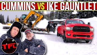 Does the 2020 Ram 3500 Cummins Out-tow Ford and GM on the World's Toughest Towing Test? by The Fast Lane Truck