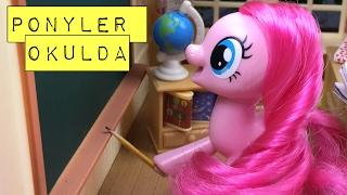 PONYLER OKULDA  Ponylerin Maceraları 8.Bölüm  Türkçe My Little Pony İzle