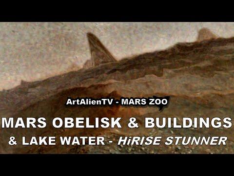 MARS OBELISK or MONOLITH & BUILDINGS: HiRISE Anomalies. ArtAlienTV – MARS ZOO 1080p