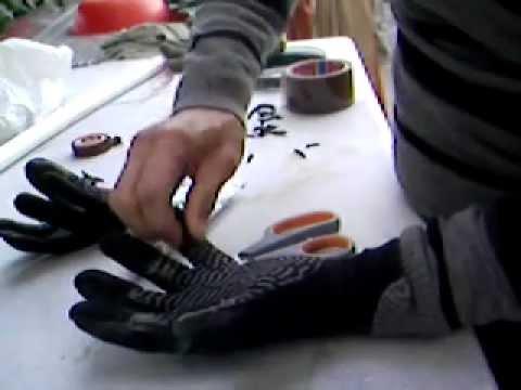 PESCASUB  attrezzatura, riparazione guanti neoprene