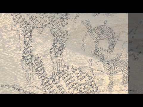 'Rose des sables' : Poème calligramme de Nicole Coppey