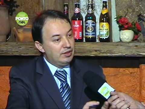 Ricardo Orlandini conversa com Reges Bronzatti presidente da Assespro-RS.