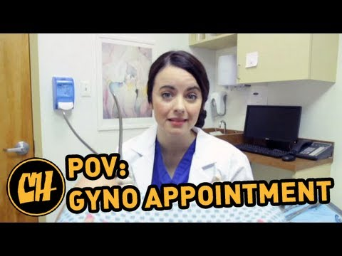 POV: What Every Girl Sees at a Gyno Appointment (видео)