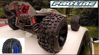 """Arrma Kraton v2 has Proline Racing Badlands 3.8"""" tyres, mounted on Desperado Rims Installed. This is a bash video to check out if they're any good, running on 4s and 6s Turnigy Graphene LIPOs. These are 65c discharge so strap yourself in for a ride.This Truggy truly is awesome guys! If you haven't used an ARRMA RC then I'd recommend one. I own the Senton and the Kraton and both offer a load of fun, durability, and power!ARRMA Kraton Unboxing: https://www.youtube.com/watch?v=PYyiQaSEx6QARRMA Kraton Stock Top Speed 6s: https://www.youtube.com/watch?v=wyPviYpSDdUARRMA Senton Unboxing: https://www.youtube.com/watch?v=AD41w-jS864ARRMA Senton Stock Top Speed 6s: https://www.youtube.com/watch?v=LNetF14a75wTurnigy Graphene 6s 6000Mah Lipo:http://www.hobbyking.com/hobbyking/store/__91337__Turnigy_Graphene_6000mAh_6S_65C_LiPo_Pack_w_XT90_UK_Warehouse_.htmlTurnigy Graphene 4s 6000Mah Lipo:http://www.hobbyking.com/hobbyking/store/__91337__Turnigy_Graphene_6000mAh_6S_65C_LiPo_Pack_w_XT90_UK_Warehouse_.htmlThanks for watching, please like, subscribe, and share these videos and I'll see you next time.Jake Billing on Youtube Facebook Page Here: https://www.facebook.com/jakebillingonyoutube/"""