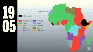(Boston Globe) At the beginning of the 20th century, Africa was ruled by colonial powers. Watch as all but one nation achieves independence. By Dan ...