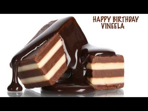 Vineela - Birthday song FREE - Find your name at http://www.1happybirthday.com/findyourname.php?n=h BIRTHDAY CHOCOLATE & CHOCOLATE DE CUMPLEAÑOS - A video birthday car...