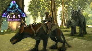 STEGO TAME & RAVAGER SADDLE | ARK: Aberration | Let's Play ARK Aberration Gameplay | S01E03