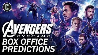 Avengers: Endgame Box Office Predictions by Collider
