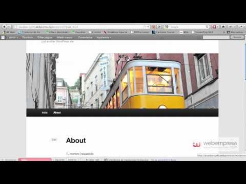 Como crear un formulario de contacto en WordPress usando Contact form 7
