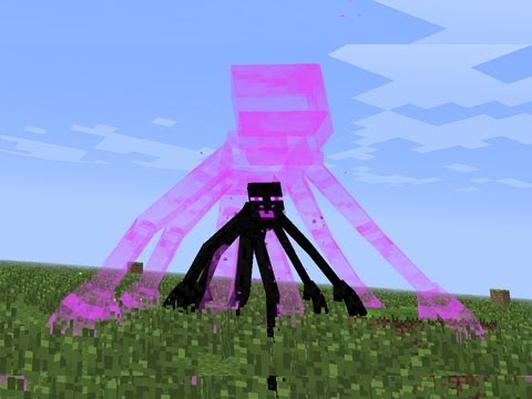 Minecraft Mod Showcase MUTANT ENDERMAN