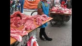 Jilin City China  city images : Jilin City Morning Market