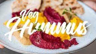 How To Make Amazing Hummus 3 Ways #spon by SORTEDfood