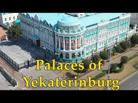 Old Mansions in Yekaterinburg. Russian history