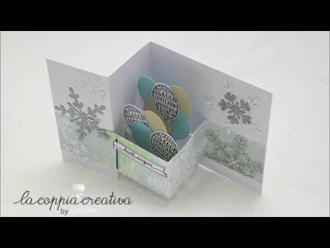 Double Z fold card Pop up Tutorial - Biglietto Auguri Buon Compleanno