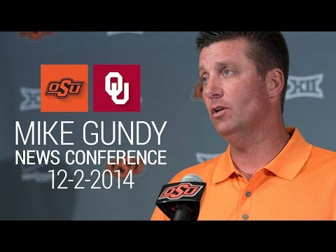 Mike Gundy 12-2-2014 News Conference