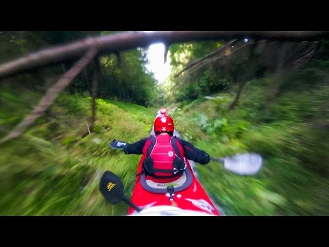Exciting POV Footage of GoPro Athletes Riding Down a Giant Drainage