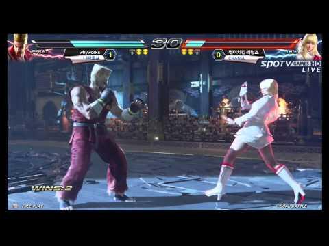 TEKKEN 7: Paul/Katarina/Bryan vs King/Lili/Feng - CRASH FINAL