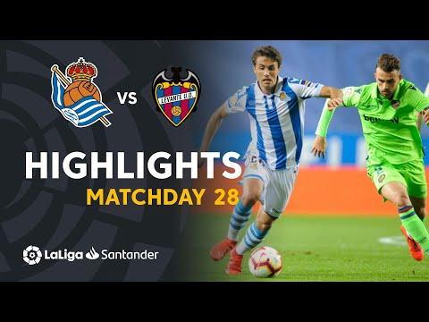 Highlights Real Sociedad vs Levante UD (1-1) - Thời lượng: 91 giây.