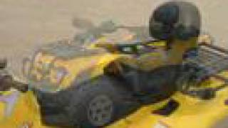 8. ATV Television Test - 2007 BRP Outlander Max 800