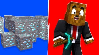 I Used XRAY Hacks In A Minecraft Battledome | JeromeASF