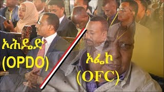 Ethiopia – The deal (agreement) between OPDO and OFC | ኦሮሚያ፦ የኦሆዴድ እና ተቃዋሚው ኦፌኮ የመደራደራቸው ሒደት
