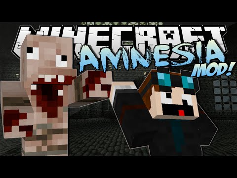 Minecraft   AMNESIA MOD! (Horror, Jumpscares & Evil Monsters!)   Mod Showcase