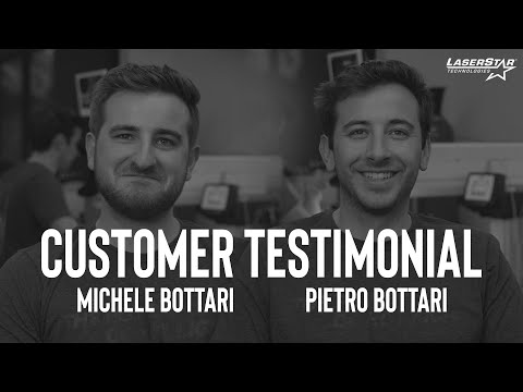 "<h3>LaserStar Customer Testimonial - Michele Bottari & Pietro Battari</h3>In this customer testimonial, brought to you by <a href=""https://www.laserstar.net/en/"">LaserStar</a>, Michele Bottari and Pietro Battari share with us their thoughts on coming to train on the exact welding system they use in their plastic injection molding business here at our Orlando, Florida facilities.&nbsp;"