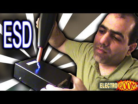 Don\'t worry, it\'s just ESD! (Electrostatic Discharge)
