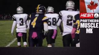 NCAFA 2K16 -BANTAM - Week 8 Gloucester South Raiders VS Warriors