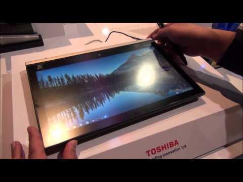 Toshiba Portege Z20t at CES 2015