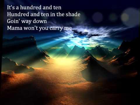 Tekst piosenki John Fogerty - A Hundred And Ten In The Shade po polsku