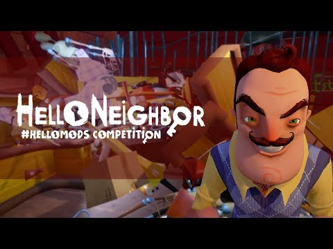 Hello Mods Winners! Hello Neighbor Mod Competition winners (видео)