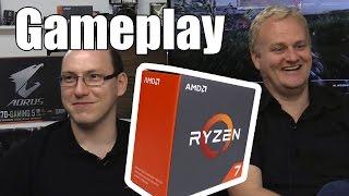 Nossa análise com o Ryzen 7 já está no ar, e quem quiser ver em detalhes benchmarks com diversas aplicações, tem a review para conferir. Agora, pra galera que quer saber mesmo de jogar, que tal ver o que o processador é capaz de fazer na prática?Colocamos o Ryzen 7 1700X em conjunto com uma Gigabyte GeForce GTX 1080 G1 Gaming e caímos no gameplay, com o apoio técnico e suporte emocional de Alfredo Heiss, pronto para tirar dúvidas sobre a nova tecnologia e rir de eventuais mortes nos campos do Battlefield 1.Especificações técnicas do sistema usado:- Placa-mãe Gigabyte AX370-Gaming 5- Placa de vídeo: Gigabyte GeForce GTX 1080 G1 Gaming- Memórias: 8 GB Kingston HyperX Predator DDR3/DDR4 2133MHz (2x4GB)- SSD: Kingston HyperX 3K 240GB Sata 6Gb/s- HD: Seagate Barracuda 2TB 7200RPM Sata 6Gb/s- Cooler: Noctua NH-U12S- Fonte de energia (PSU): XFX ProSeries 850W PSUAnálise Ryzen 7 1800Xhttp://adrenaline.uol.com.br/2017/03/02/48469/analise-processador-amd-ryzen-7-1800x/Gameplay Ryzen 7 1700Xhttp://adrenaline.uol.com.br/2017/03/01/48577/ryzen-e-bom-em-jogos-veja-nosso-gameplay-com-o-ryzen-1700x-feat-alfredo-heiss-/Impressões com as CPUs Ryzen (hoje às 18h)http://adrenaline.uol.com.br/2017/03/01/48580/ryzen-nossas-opinioes-sobre-as-novas-cpus-da-amd/Videocast com Alfredo Heiss (hoje às 20h)http://adrenaline.uol.com.br/2017/03/02/48539/videocast-especial-ryzen-alfredo-heiss-nos-conta-tudo-sobre-as-novas-cpus-da-amd/